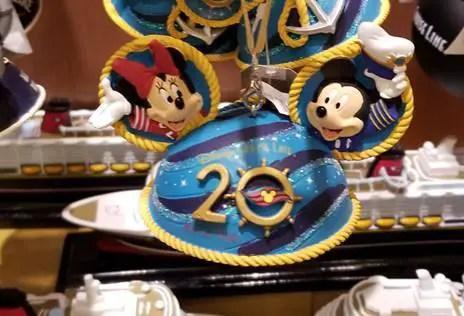 Photo Tour Of The Disney Cruise Line 20th Anniversary Merchandise