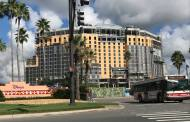 Work is Coming Along to the New 15-story Tower at Disney's Coronado Springs Resort