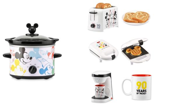 90th Anniversary Mickey Appliances