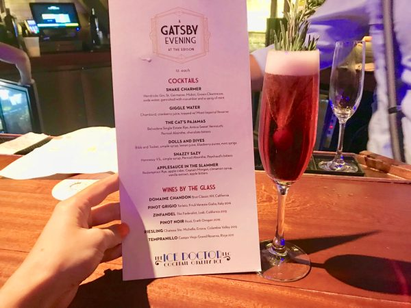 Review: A Gatsby Evening at The Edison - Disney Springs 8