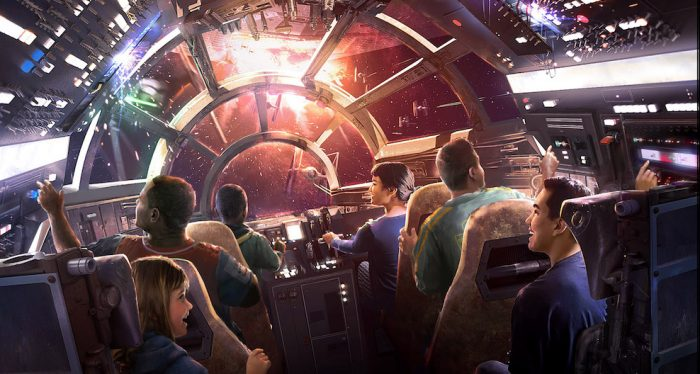 A Sneak Peek at Star Wars: Galaxy's Edge is Coming to Disney Parks Magical Christmas Day Parade