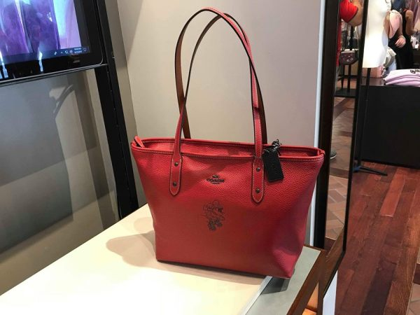 New Minnie Mouse Coach Collection Spotted At Disney Springs 1