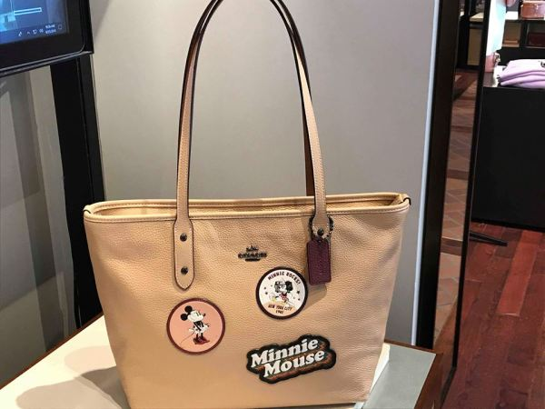 New Minnie Mouse Coach Collection Spotted At Disney Springs 2