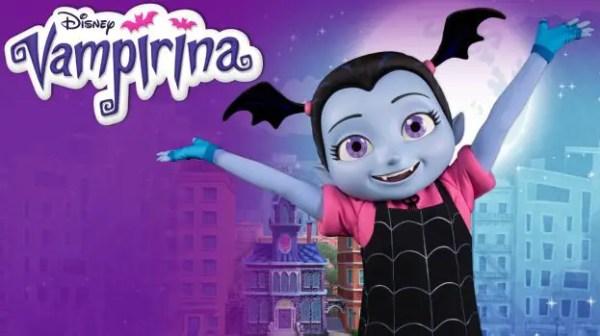 Vampirina Arrives at Disney Parks