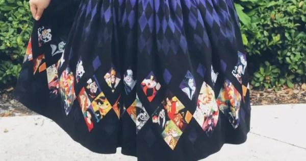 New Disney Villains Dress