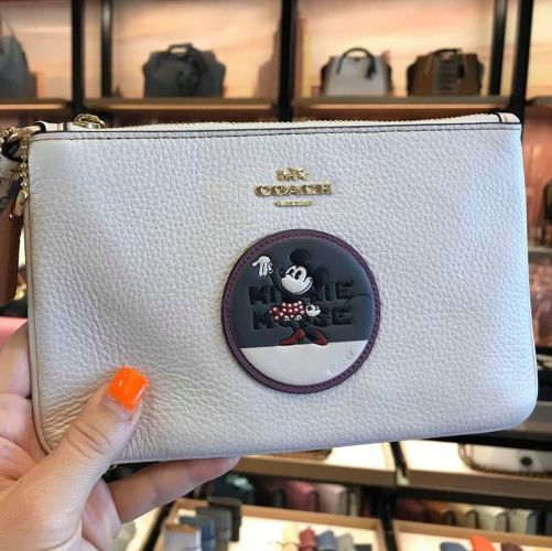New Minnie Mouse Coach Collection Spotted At Disney Springs 11