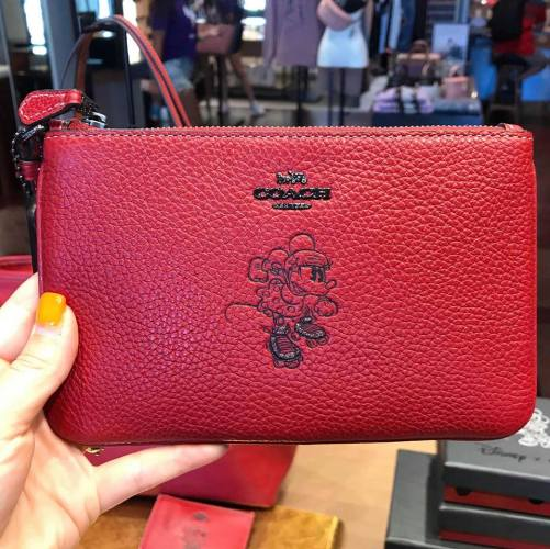 New Minnie Mouse Coach Collection Spotted At Disney Springs 13