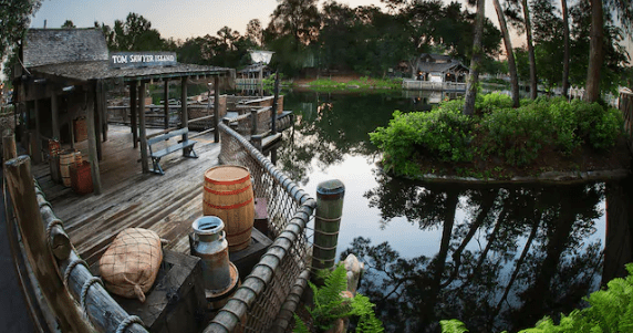 Tom Sawyer Island Refurbishment Planned