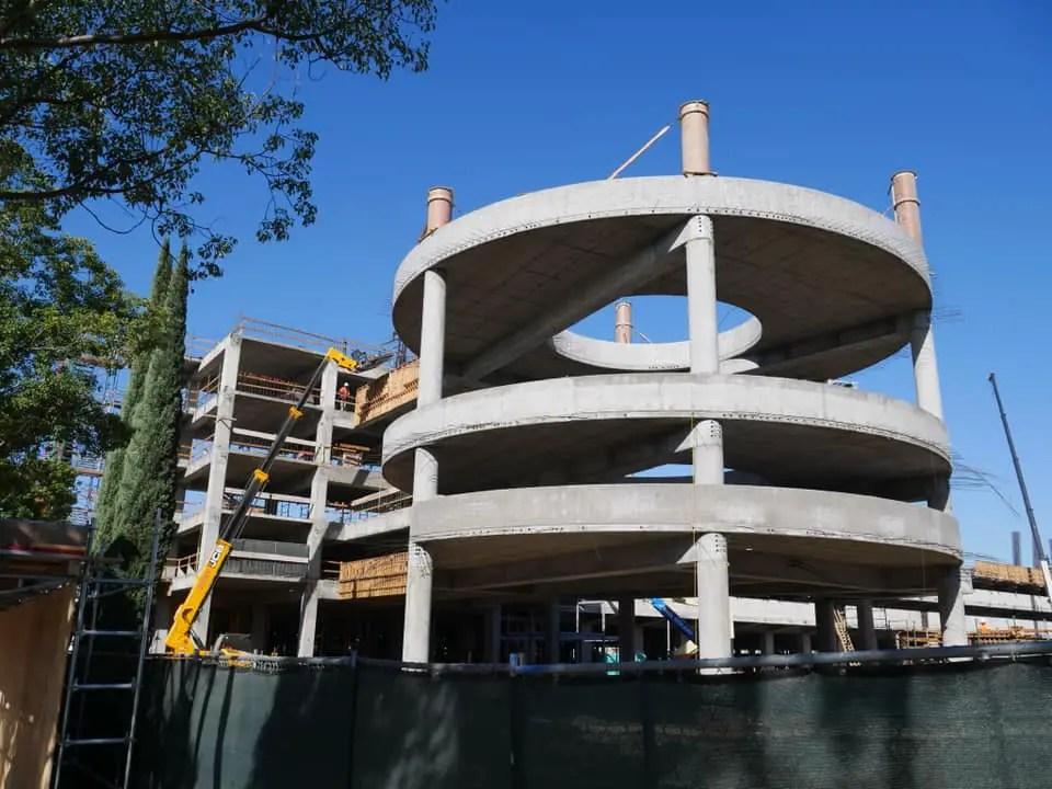 New Disneyland Parking Structure – Construction Update