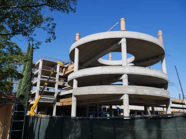 New Disneyland Parking Structure - Construction Update