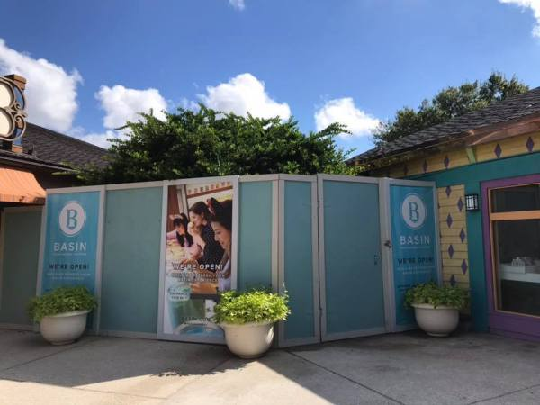 Basin at Disney Springs stays Open During Construction!