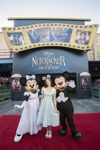 Mackenzie Foy Visits Disneyland Resort