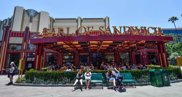 Grand Re-Opening of Earl of Sandwich Postponed at Disneyland