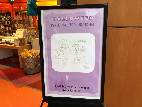 Halloween Personalized Sketches - Art of Animation