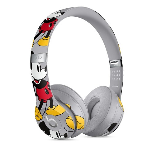 Mickey Anniversary Edition Wireless Headphones By Beats 4