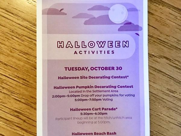 Fort Wilderness Hosts Spooktacular Halloween Activities