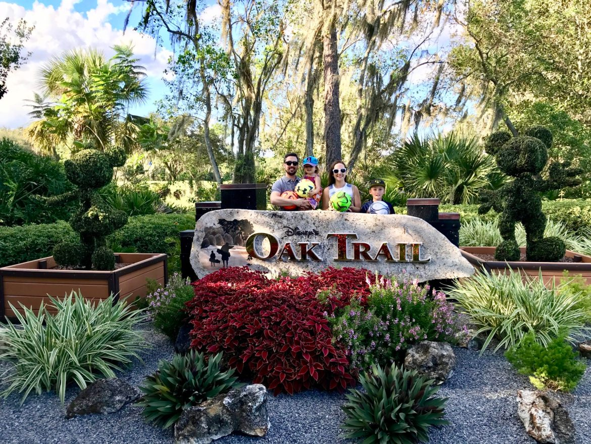 Footgolf Family Fun at Disney's Oak Trail Golf Course