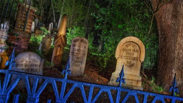 Sharing Some Secrets About The Haunted Mansion Tombstones
