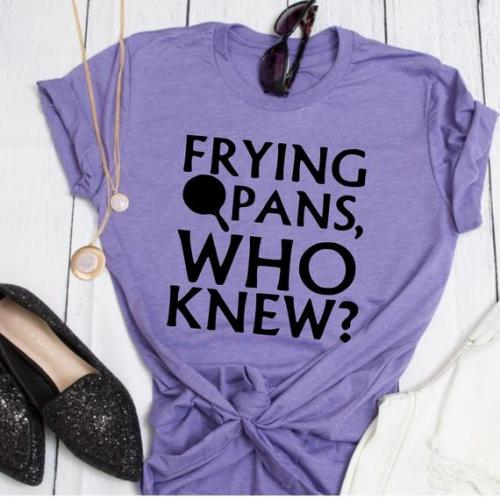 Rapunzel Frying Pans Inspired Tee