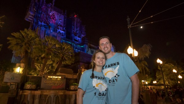 Couple Visits All 6 US Disney Parks in 24 Hours