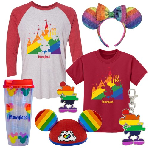 rainbow souvenirs at disneyland