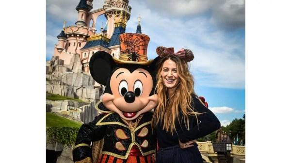 Blake Lively Celebrates Halloween With Family at Disneyland Paris