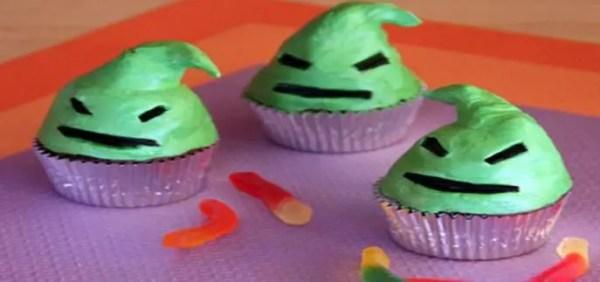 Oogie Boogie Cupcake Recipe