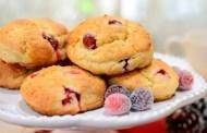 Recipe - Fezziwig's Cranberry Christmas Scones