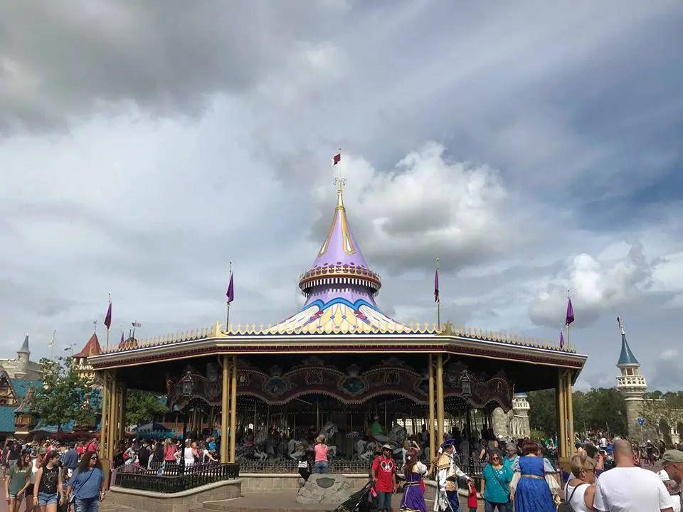 Magic Kingdom Carousel No Longer Under Refurbishment