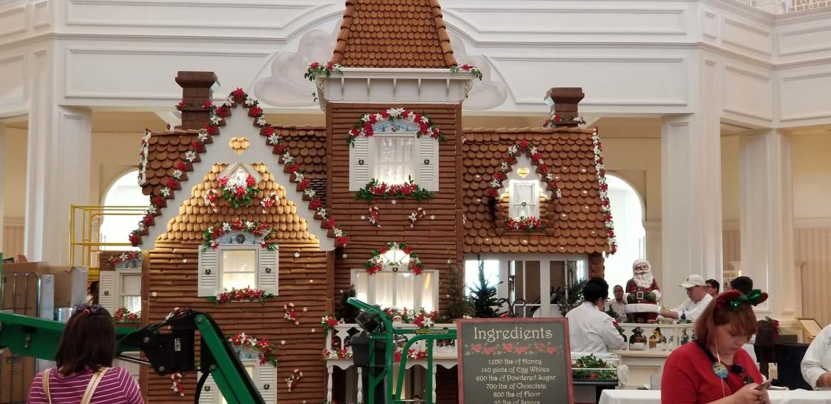 20th Anniversary Gingerbread House at Grand Floridian