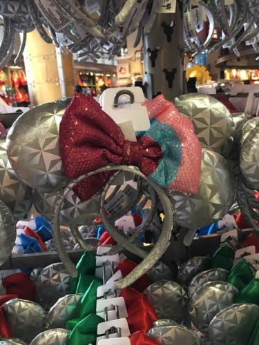 The Epcot Inspired Minnie Mouse Ears Have Arrived 5