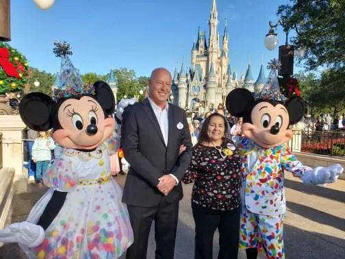 Good Morning America Live at Walt Disney World for Mickey's 90th Celebration