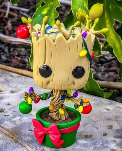 Holiday Groot Funko POP! Brings Christmas To the Galaxy 2