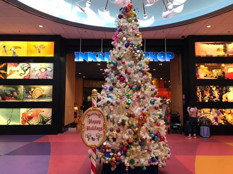 Art of Animation Holiday Decor