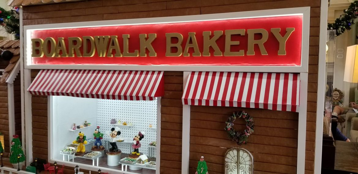 Holiday Cheer For Visitors to Disney's Boardwalk Resort – A Festive Gingerbread House Awaits