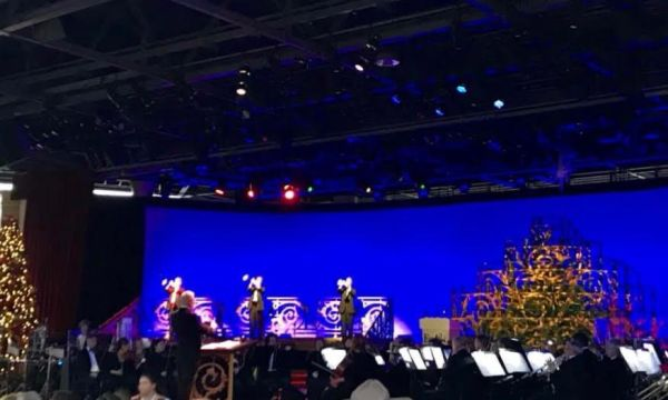 2018 Candlelight Processional Opens With First Narrator Chita Rivera 2