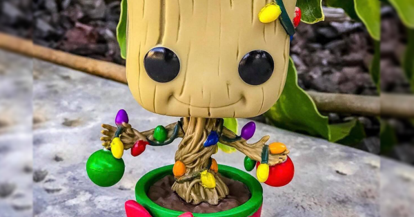 Holiday Groot Funko