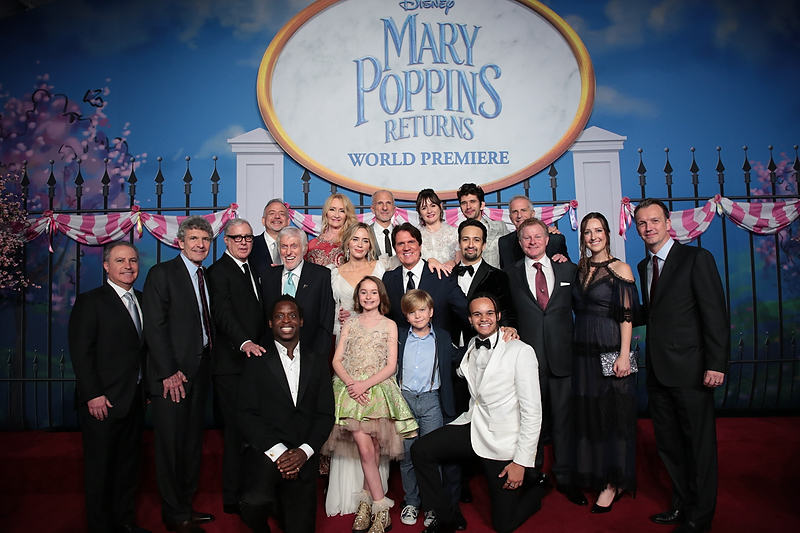 """""""Mary Poppins Returns"""" Stars Attend World Premiere Event in Hollywood, CA!"""