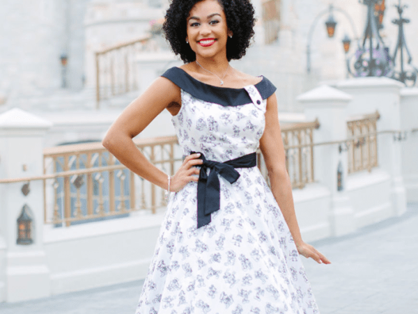 Mickey Mouse Sketch Dress