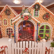 2018 Disney Cruise Line Gingerbread House Competition 1