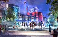 High-Flying Concept Art For Spiderman Attraction at California Adventure