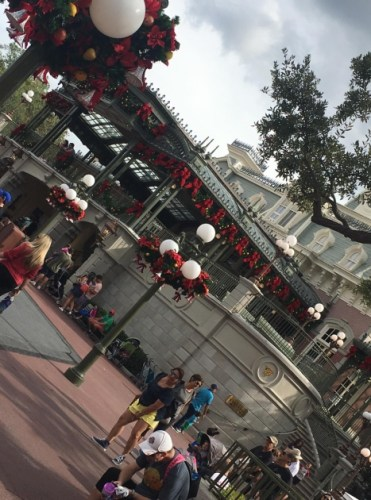 Magic Kingdom Holiday Decor 2
