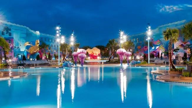 Art of Animation Resort Big Blue Pool to Close for Refurbishment