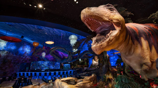 T-Rex Cafe at Disney Springs Taking Reservations for Breakfast with Santa