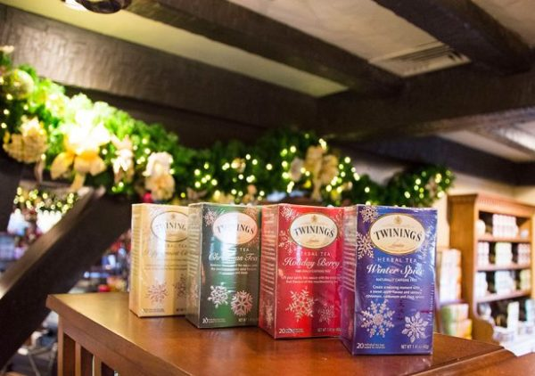 This Thanksgiving - Stephen Twinning of Twinnings of London Travels to Epcot