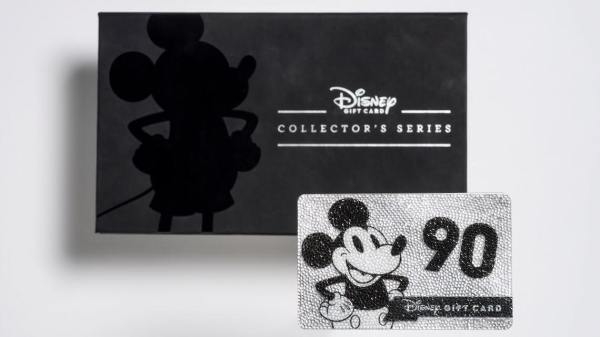 9a9f6b6f87c Disney Gift Card Collector's Series Celebrates Mickey