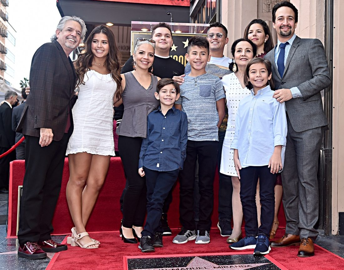 Lin-Manuel Miranda Received a Star on the Hollywood Walk of Fame Today