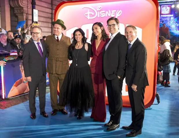 On The Blue Carpet – Ralph Breaks The Internet – UK Screening Gala