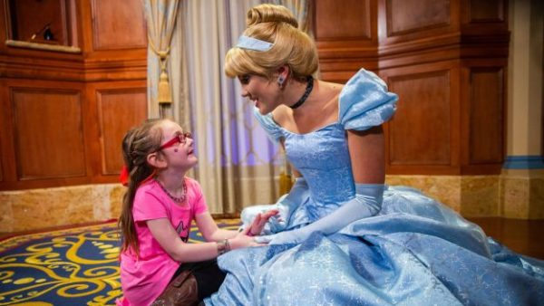 Walt Disney World Helps a Little One Find the Real Cinderella