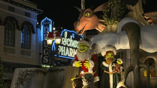 Relive Your Childhood With Familiar Characters At Universal's Holiday Parade Featuring Macy's